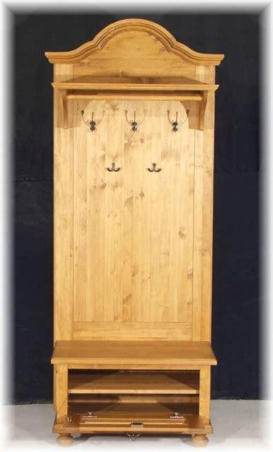 garderobe im landhausstil gad 05 garderobe garderobenschrank landhausstil weichholz