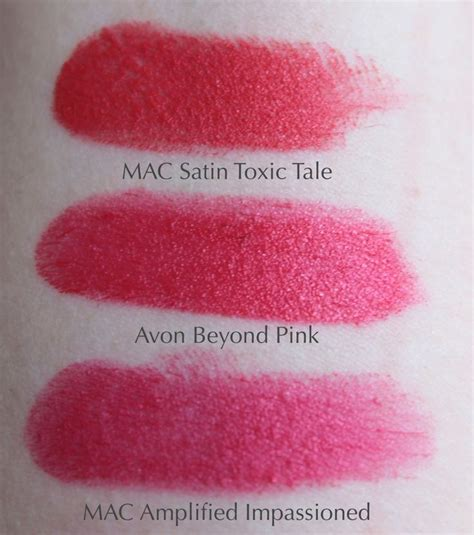 Eyeshadow Viva Pink five lipstick dupes mac toxic tale mac mac vegas