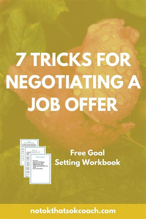 7 Interesting Negotiating Tricks And Strategies by 7 Tricks To Negotiating A Offer Millennial Employee