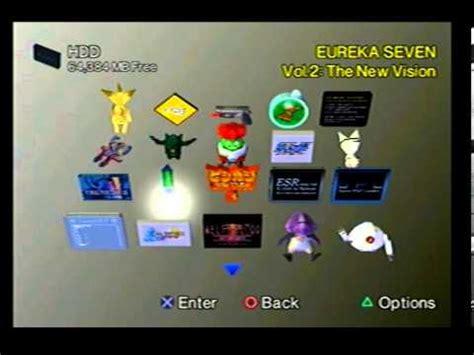 Ps2 Hd 60 Gb playstation 2 w custom 60gb hdd setup wip