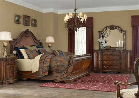 aico bedroom furniture 4 piece aico bella veneto sleigh bedroom set