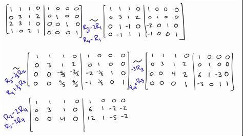 calculator matrix inverse matrix inverse calculator 4x4