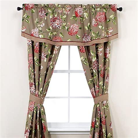 williamsburg curtains williamsburg 174 charlotte window treatment set bed bath