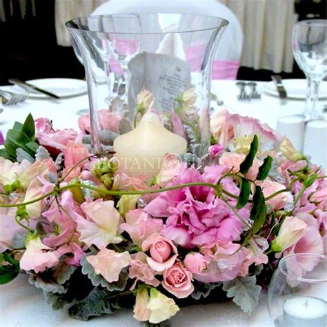 172 Best Images About Fresh Flower Rings And Wreaths On Fresh Flower Table Centerpieces