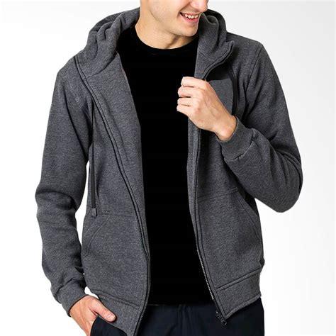 Hoodie Zipper Sweater Jaket Slipknot Terpopuler jual vm sweater zipper hoodie jaket polos pria abu tua