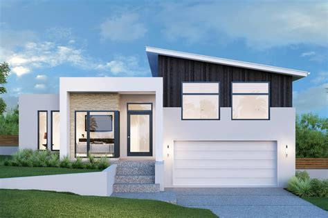 design home levels regatta 264 split level home designs in new south wales