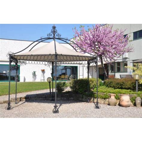 gazebo esagonale gazebo esagonale in ferro per giardino lonato