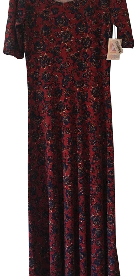 colored maxi dresses lularoe multi colored casual maxi dress size 14