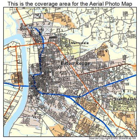 louisiana map baton aerial photography map of baton la louisiana