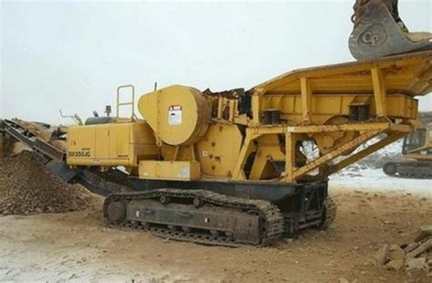 Komatsu Br350jg 1 Mobile Crusher Service Shop Repair