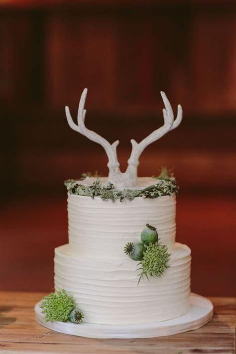 ways   antlers   rustic wedding deer