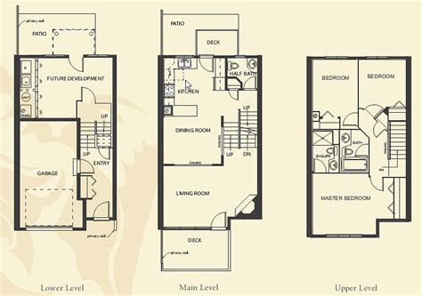 small townhouse plans 20 genius small townhouse floor plans house plans 9720