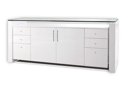 Sh04 White Lacquer Desk   Executive