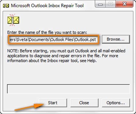 Unable To Search Emails In Outlook 2010 How To Resolve Quot Cannot Start Microsoft Office Outlook Quot Problem