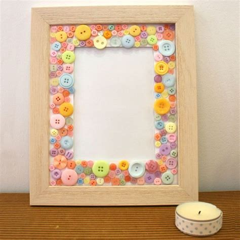 Button Frame Craft Ideas Inspirational Projects