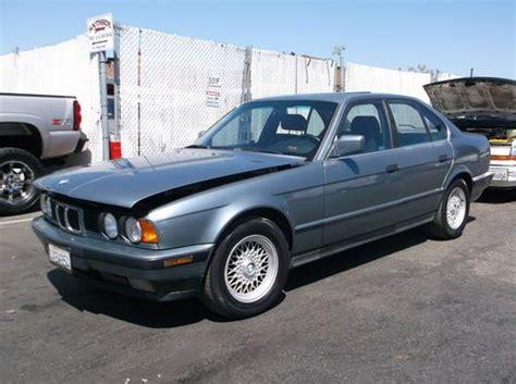 1989 bmw 535i for sale buy used 1989 bmw 535i no reserve in orange california