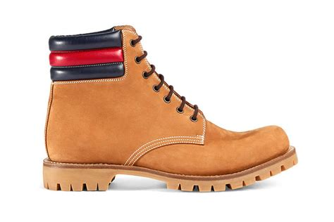 luxuriously branded boots gucci timberland