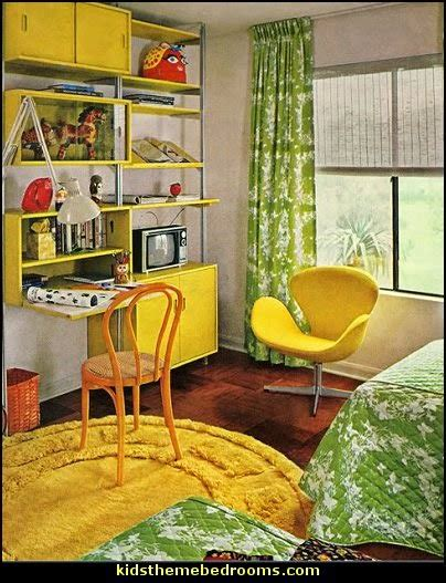 retro room decor decorating theme bedrooms maries manor groovy funky