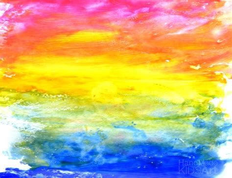 painting rainbow balloon painted rainbow