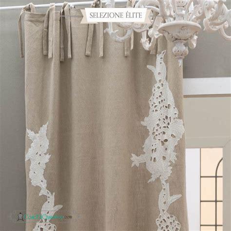 tenda blanc mariclo tenda blanc maricl 231 modello charlene in puro lino al 100