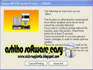 cara reset printer mp258 dengan software cara mengatasi error 13 printer canon mp250 mp258 info