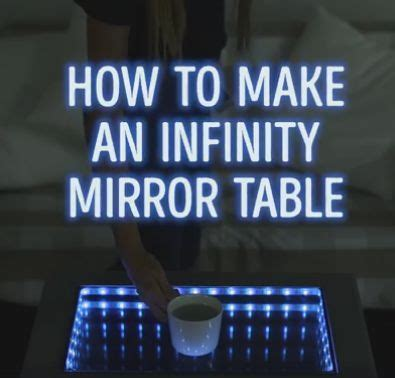 How To Make An Infinity - 25 best ideas about infinity mirror table on