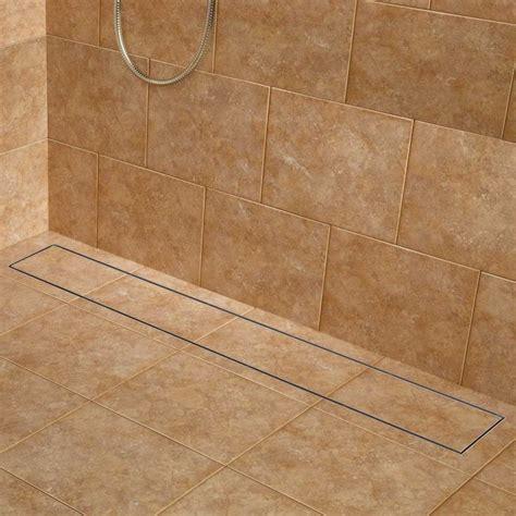 Linear Shower Drain Home Depot by Best 25 Shower Drain Ideas On Linear Drain
