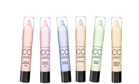 how to apply color corrector how to use new max factor cc colour corrector sticks