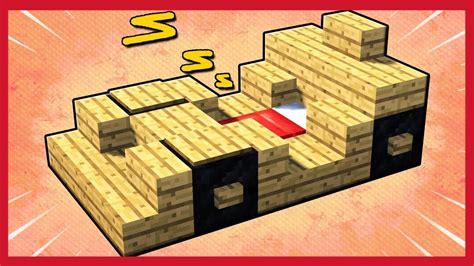 come fare un letto a minecraft come fare un letto a forma di macchina