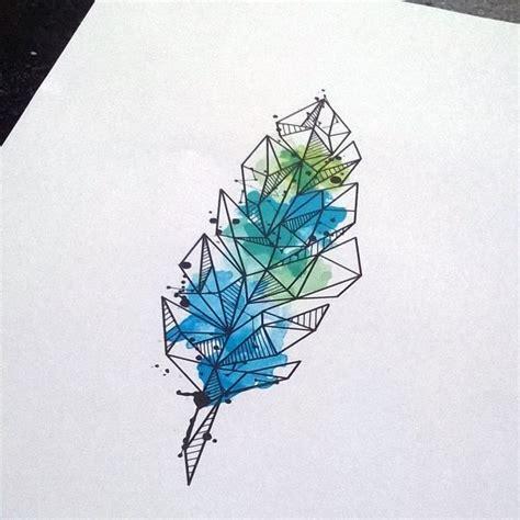 geometric tattoo prints best 25 geometric watercolor tattoo ideas on pinterest