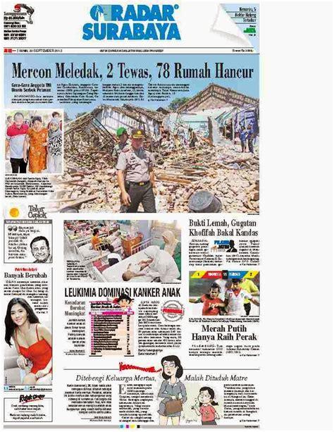 analisa layout majalah all in 1 update koran majalah dll koran suara merdeka