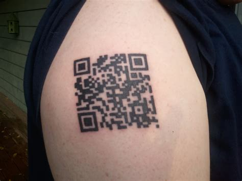qr code tattoo 3 things to know before you get one