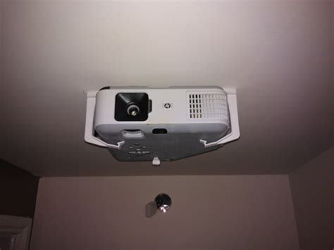 100 ceiling projector mount diy hack an