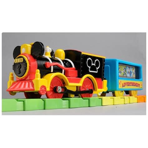 Tomica Mickey Mouse Western Locomotif Plarail Disney Railway takara tomy plarail disney railway mickey mouse colorful rail set new ebay