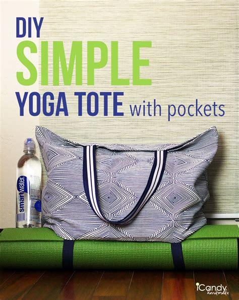 pattern for yoga mat tote simple yoga tote tutorial sewing gym bag