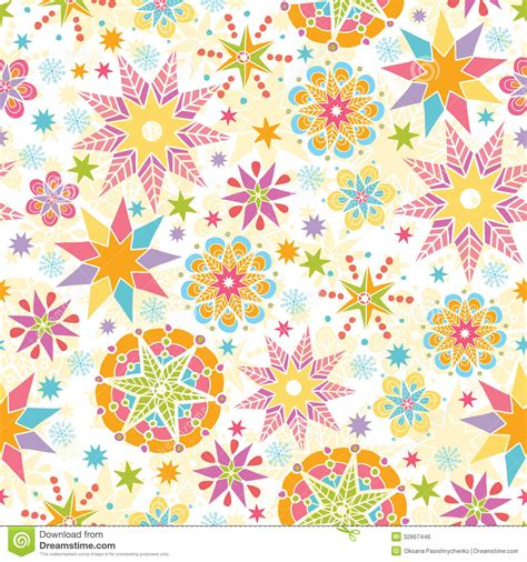 seamless christmas pattern vector colorful christmas stars seamless pattern royalty free