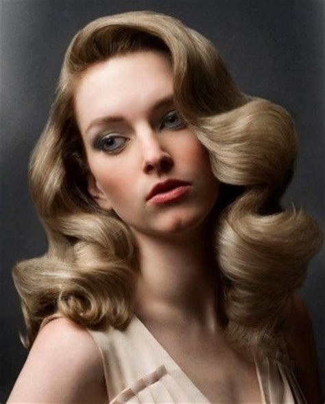 retro hairstyles curls hairstyles to try for the season vintage waves pretty