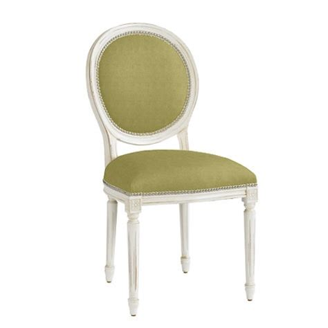Dining Chair Ac 105 oval louis side chair with pewter nailheads dinning room
