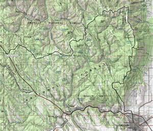 blue mountains oregon map mount emily recreation area oregon blue mountains