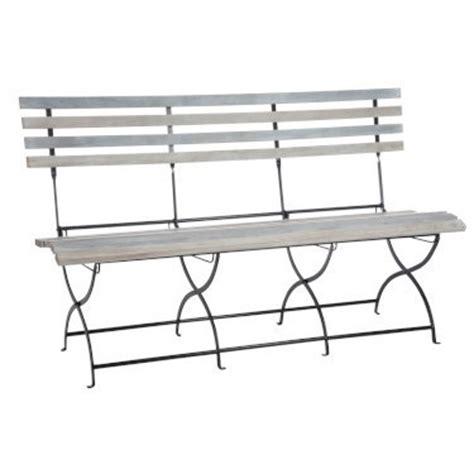 panchina pieghevole panchina da giardino grigia panche da giardino