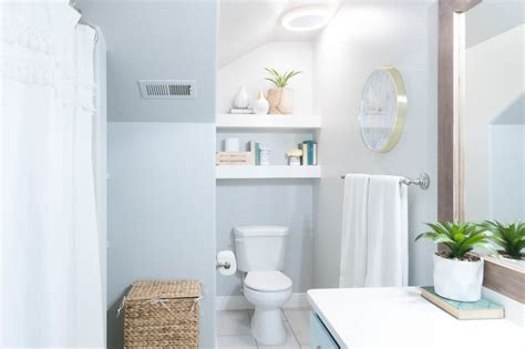 yellow and turquoise bathroom kids bathroom remodel with pops of light turquoise