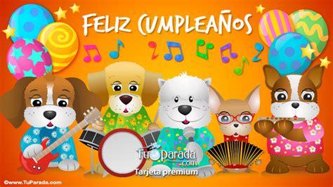 imagenes tarjetas musicales cumpleanos tarjeta de cumplea 241 os con grupo musical cumplea 241 os tarjetas