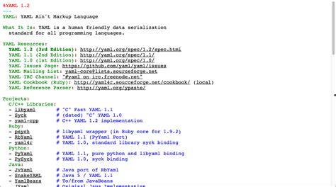 format yaml more about yaml document rest apis