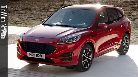 Ford Kuga 2020 by 2020 Ford Kuga In Hybrid St Line Driving Interior