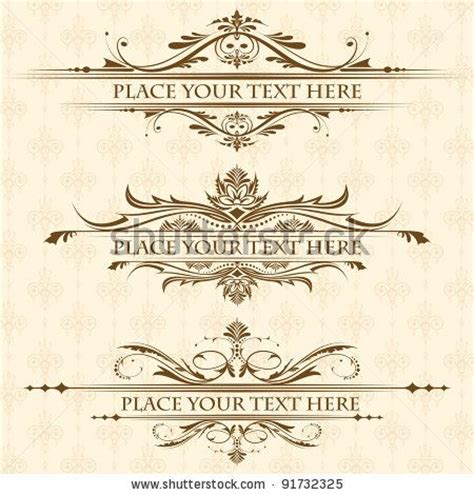 free scroll patterns for wedding invitations 10 best design elements images on design