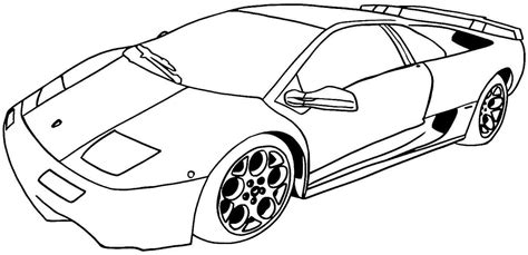 Sport Car Coloring Sheets Coloring Pages Sports Car Coloring Page
