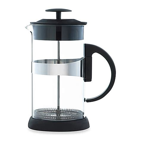 bed bath and beyond french press grosche zurich french press in black bed bath beyond