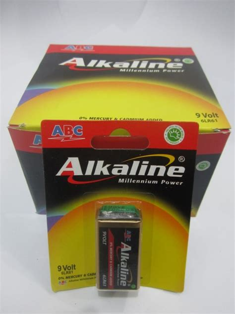 Baterai Kotak 9v jual baterai kotak 9v abc alkaline pricearea