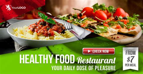 25 beautiful restaurant banner template graphic cloud 25 facebook banner templates free sle exle format