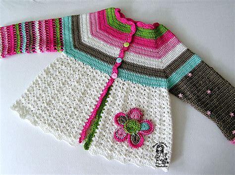 flower pattern cardigan 365 crochet